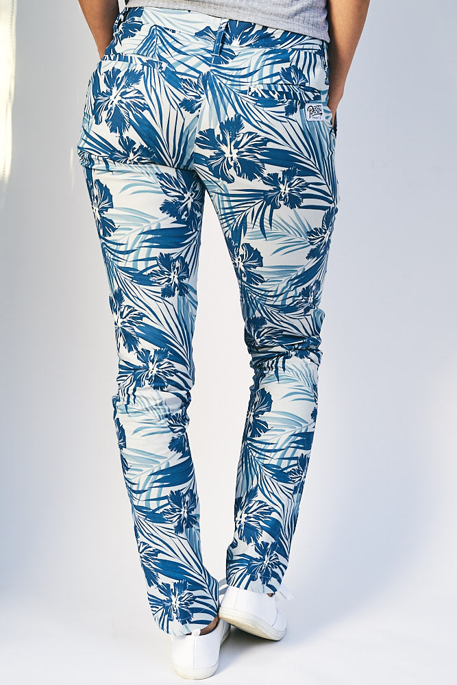 Women's Blue Hibiscus