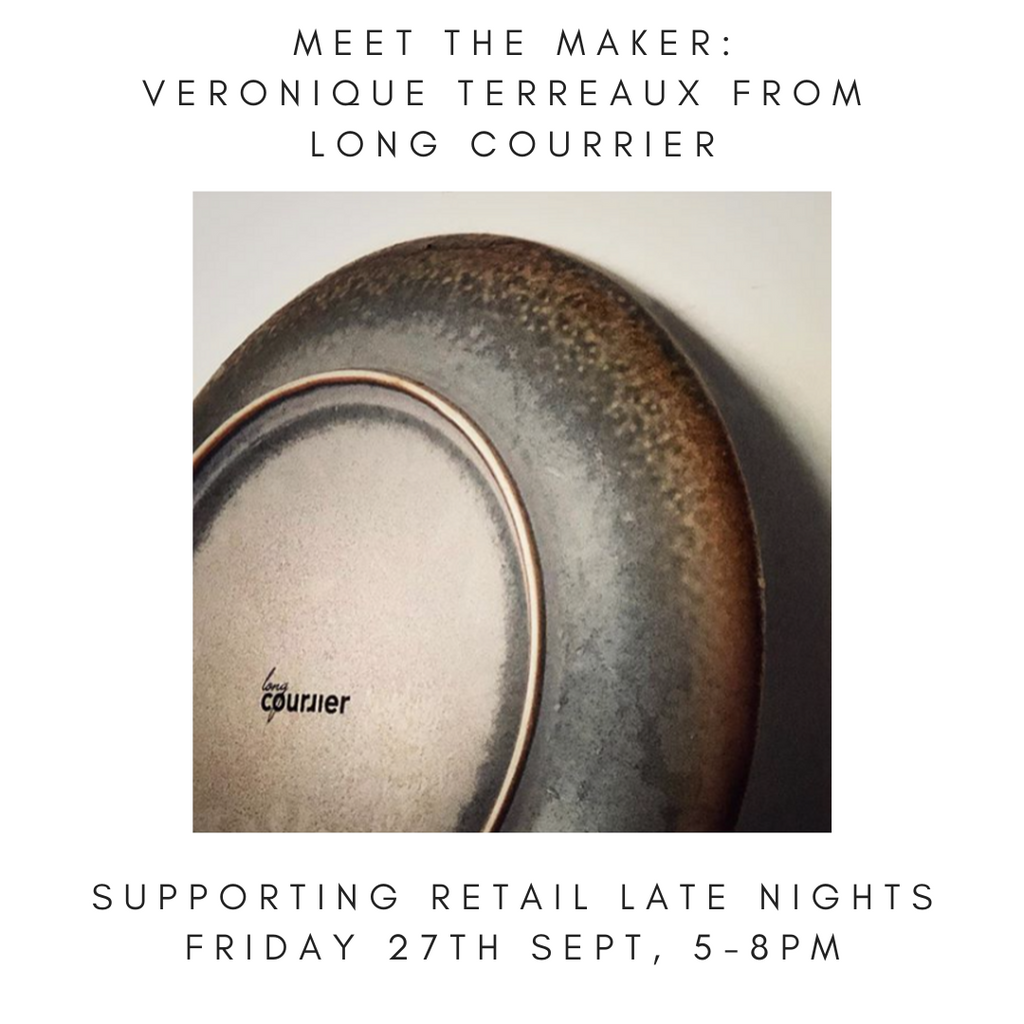Meet The Maker: Veronique Terreaux from Long Courrier