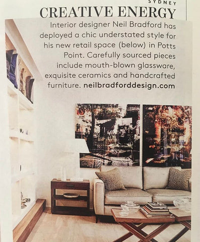 Neil Bradford Interior Designer Homeware Gifts Potts Point Press Belle Magazine