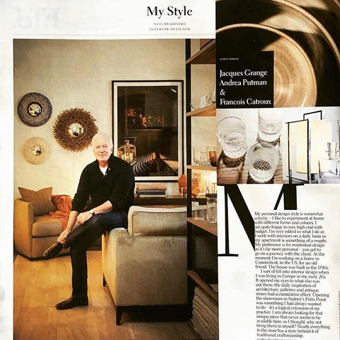 Neil Bradford Interior Designer Homeware Press Potts Point Belle Magazine