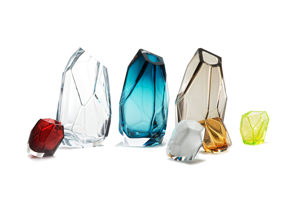 Lasvit Crystal Rock by Arik Levy Bradford Potts Point Interior Designer Homewares Gifts Art