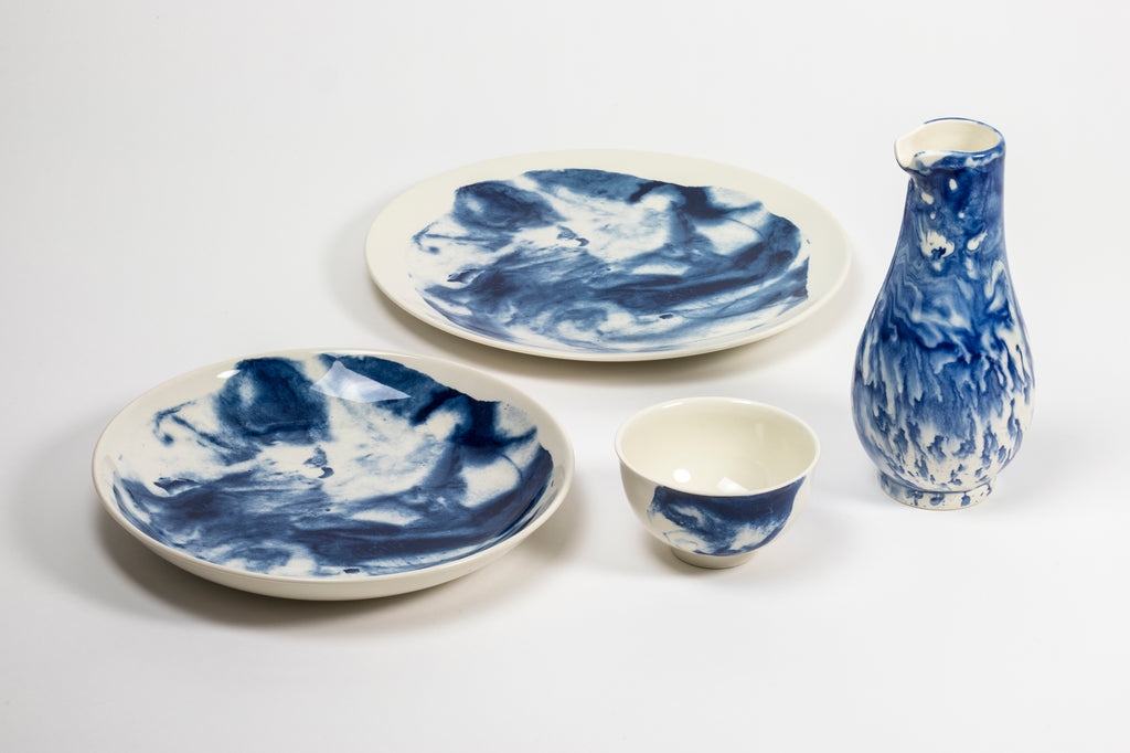 Bradford Potts Point Sydney 1882 Ltd Ceramics Indigo Storm by Faye Toogood