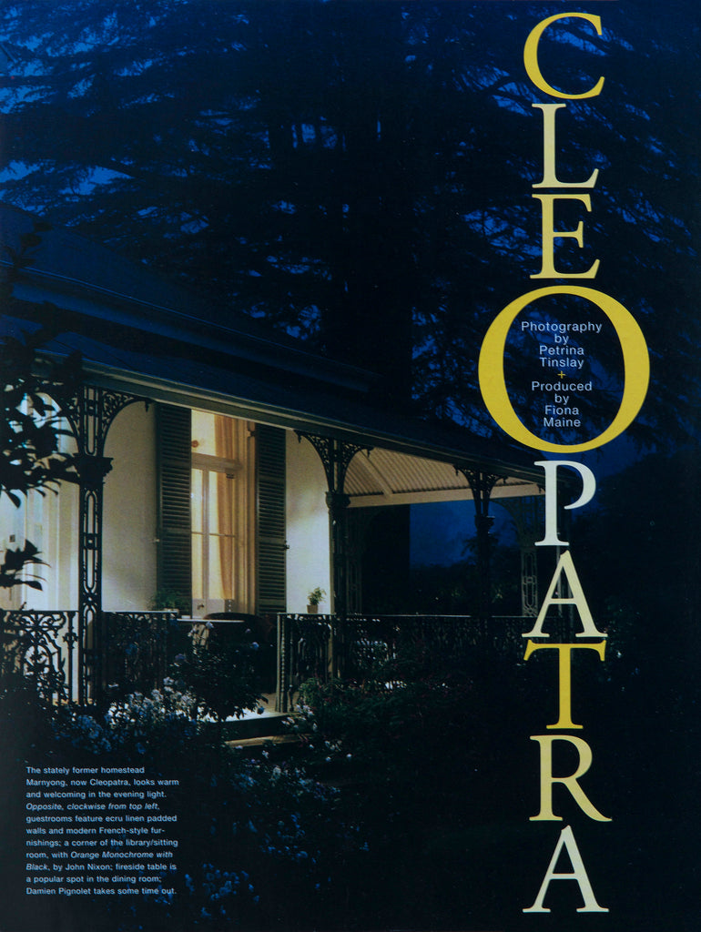Neil Bradford Interior Design Cleopatra Retreat Blue Mountains