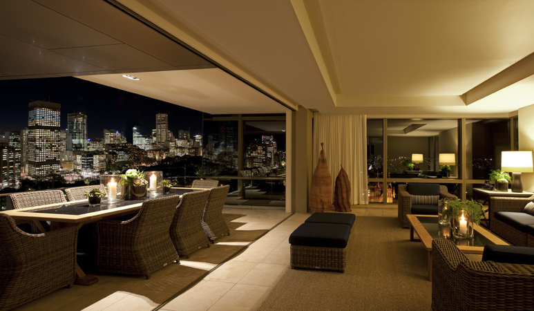 Neil Bradford Interior Design The Residence Penthouse Sydney