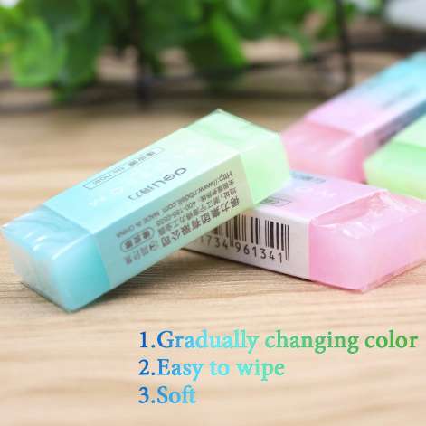 Jelly Colourful Eraser