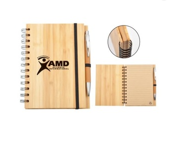Bamboo Cover Notepad