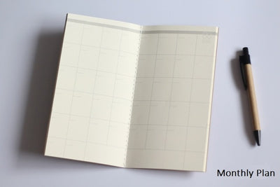 Grid Notepad Diary