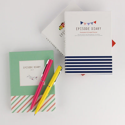 Hardcover Notepad with Sticky Notes