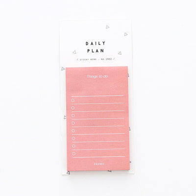 Daily Planner Sticky Notes