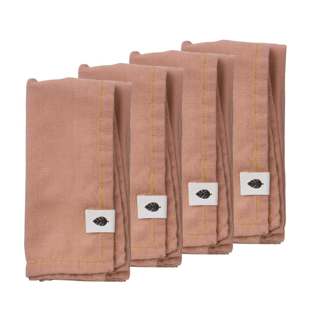 Saara Melrose, Napkin set of 4, Bungalow, NPsaa616pc