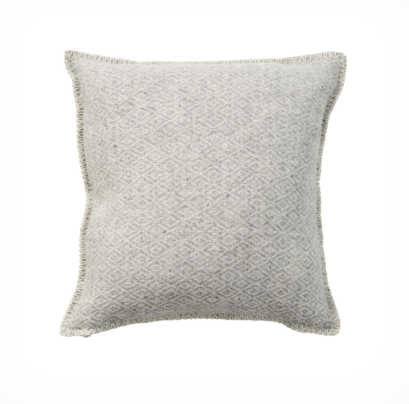 Stella Wool Cushion Light Grey 45cmx45cm, Klippan
