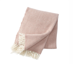 Stella Wool Throw, Nude, Klippan