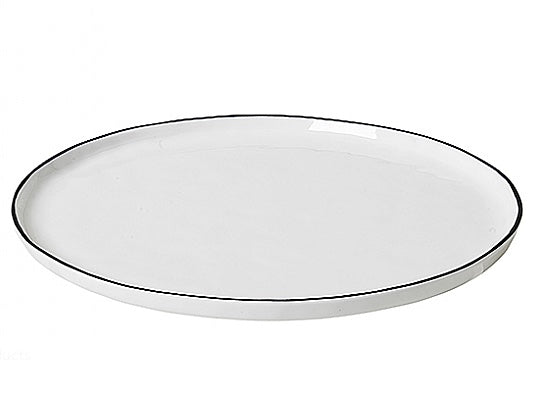Salt Collection, Round Dinner Plate, Broste, 14533187