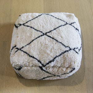 Berber Floor Cushion, Handmade in Morocco