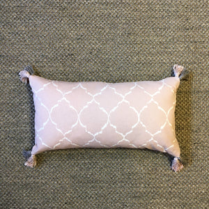 Dusty Pink Marrakesh Rectangle Cushion, Hand-made