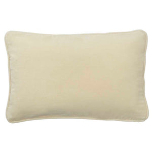 Oatmeal Velvet Cushion Cover, Bungalow, CLV047