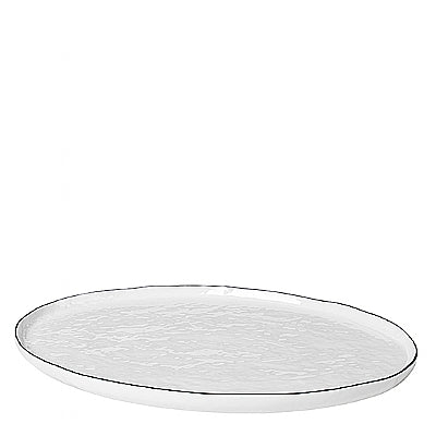 Salt Collection Oval Dinner Plate, Broste, 14533194