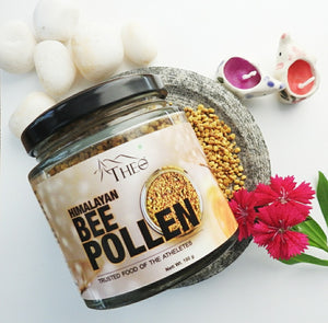 Theo Organics Bee Pollen - Natural Anti-Oxidant Rich in Protein and Immunity Booster - 100 Gm - Theo Organics