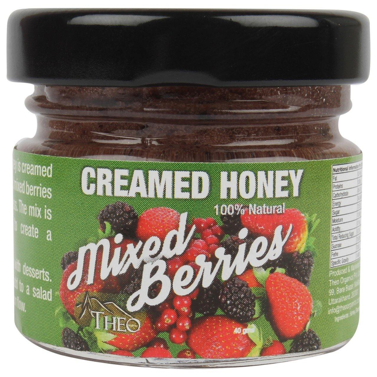 Theo Organics - Mixed Berries Honey Spread - Theo Organics