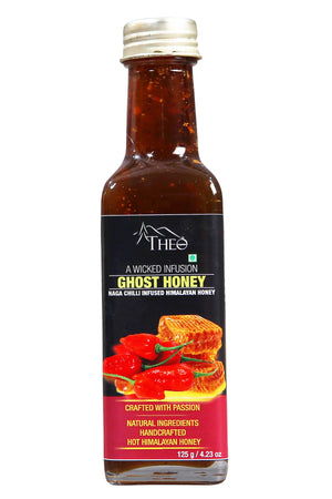 Theo Organics - Ghost Honey - Naga Chilli Infused Honey - Theo Organics