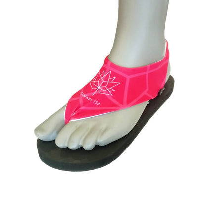 Canada 150 Tie-Back Uppers - Marisoles Interchangeable Sandals