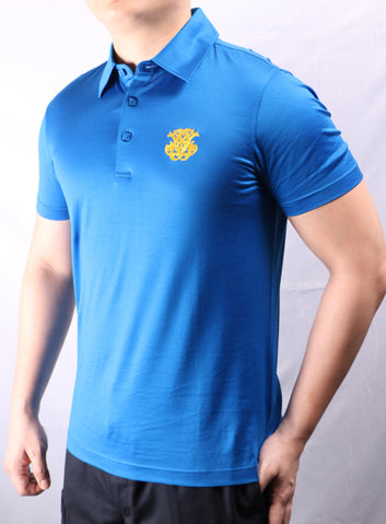 JM Blue Iconic Polo Shirt