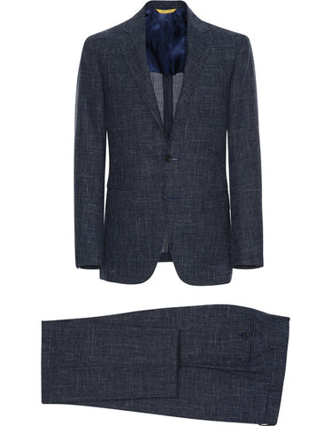 Canali Blue Kei Suit Jacket
