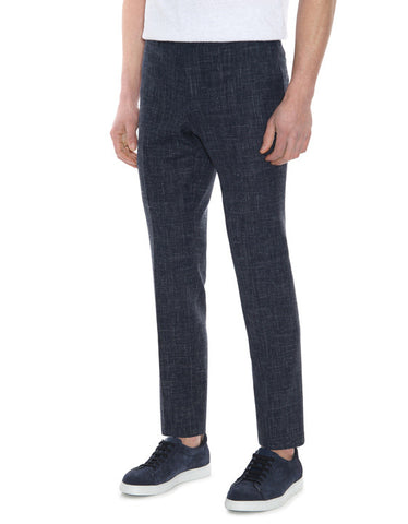 Canali Blue Kei Suit Trousers