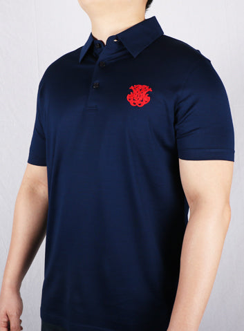JM Navy Blue Iconic Polo Shirt