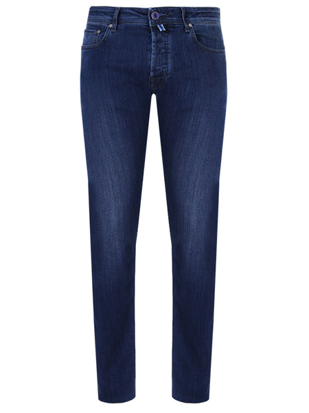 Jacob Cohen Denim Blue Lyocell Comfort Jeans