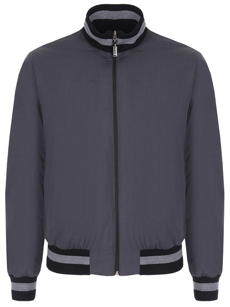 Zilli Reversible Bomber Jacket