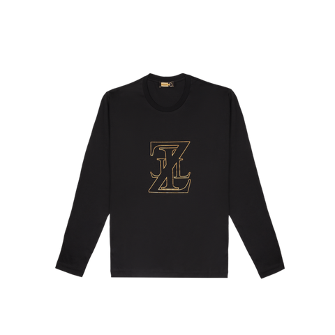 Zilli Black Long Sleeves T-shirt