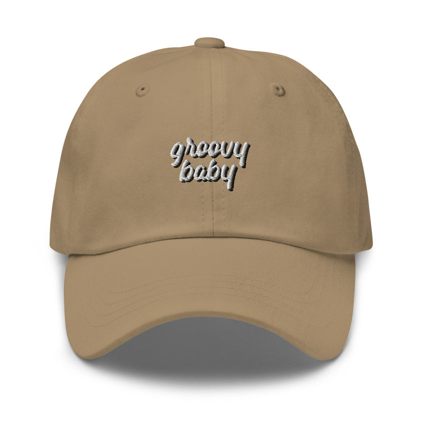 groovy baby dad hat