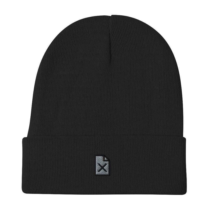 dadrack Beanie Black Beanie - File Not Found