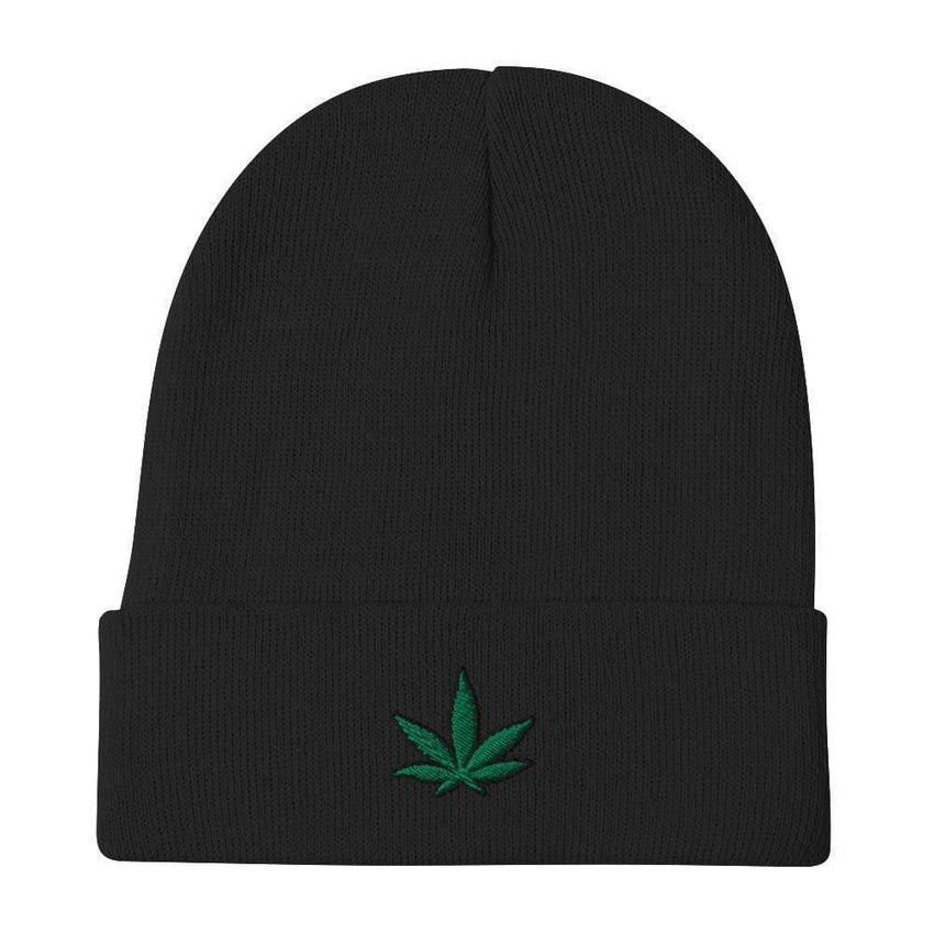 dadrack Beanie Black Beanie - Go Green 420