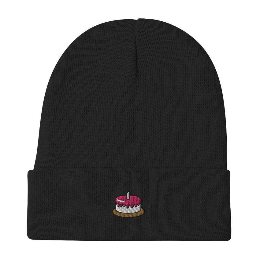 dadrack Beanie Black Beanie - The Cake Is A Lie
