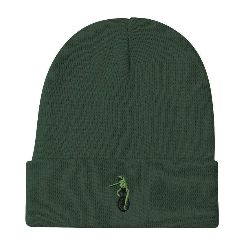 dadrack Beanie dark green here come dat boi beanie