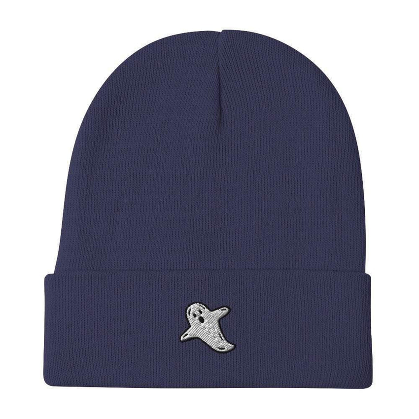 dadrack Beanie Navy Beanie - A Friendly Ghost