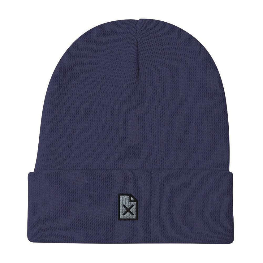 dadrack Beanie Navy Beanie - File Not Found