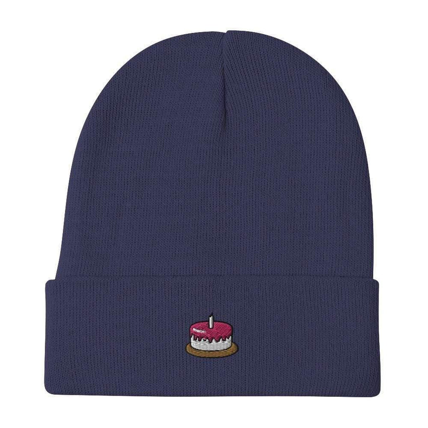 dadrack Beanie Navy Beanie - The Cake Is A Lie
