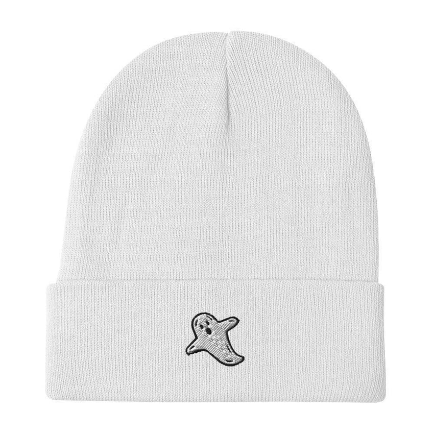 dadrack Beanie White Beanie - A Friendly Ghost