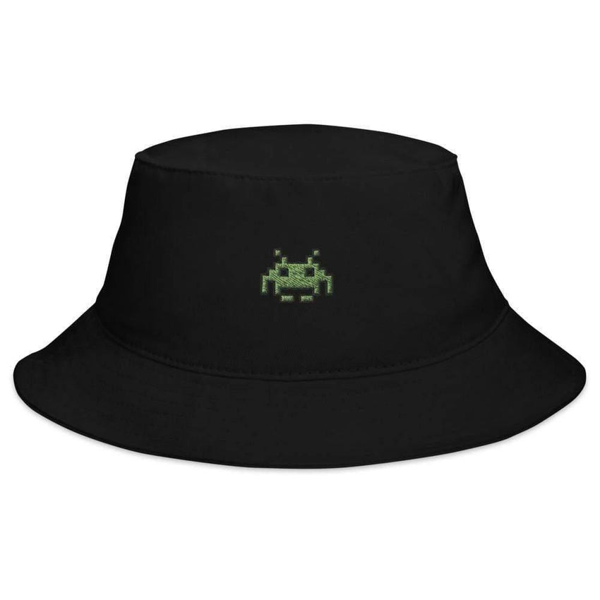 space invaders bucket hat