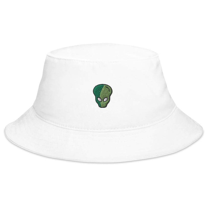 little green man bucket hat