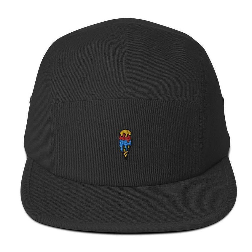 dadrack Camp Hat black camp hat - ice cream cone