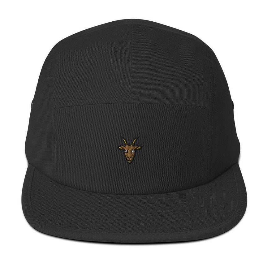 dadrack Camp Hat black g.o.a.t camp hat