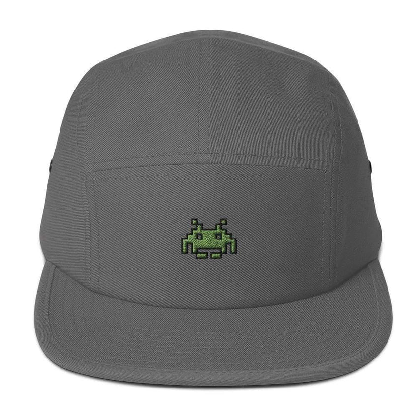 dadrack Camp Hat camp hat - space invaders