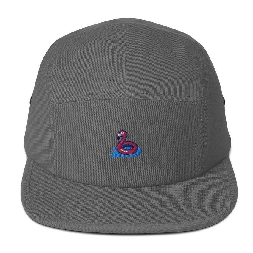 dadrack Camp Hat grey flamingo floaty camp hat
