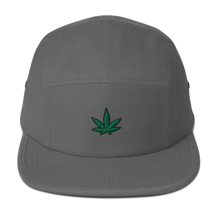 dadrack Camp Hat grey go green 420 camp hat