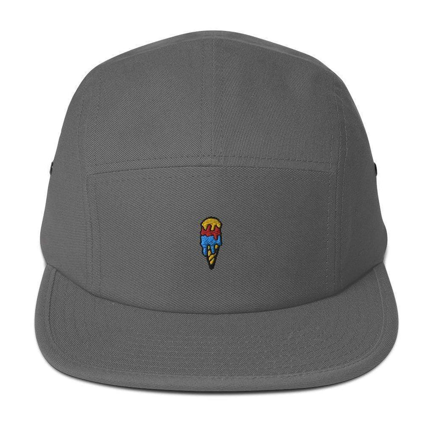dadrack Camp Hat grey ice cream cone camp hat