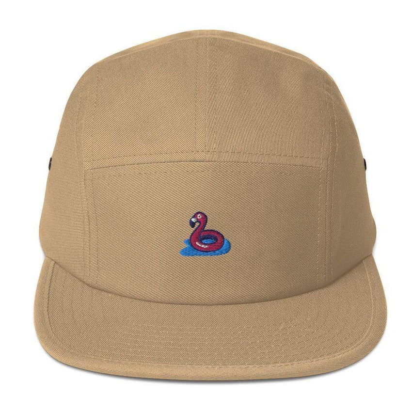 dadrack Camp Hat khaki flamingo floaty camp hat